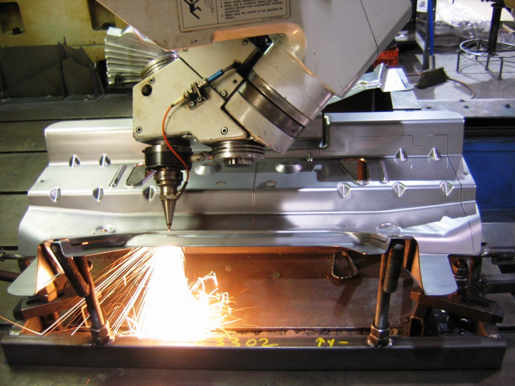 Our Laser Department Is Made Up Of Three Cnc Laser Machines Two 5 Axis And One 3 Axis Cutting Machine